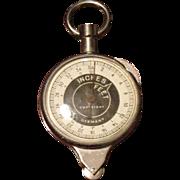 Vintage German Precision Map Measure / Rolling Ruler / Measuring Wheel Opisometer Curvimeter