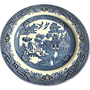 """10 1/4"""" Blue Willow Dinner Plate by Churchill of England (up to 10 available)"""