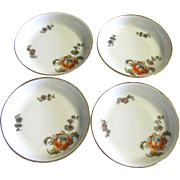 Four 1908-1939 Thomas Bavaria Butter Pats