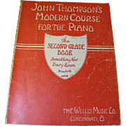 1937, John Thompson's Modern Course for the Piano - Second Grade (Book Only) Thompson