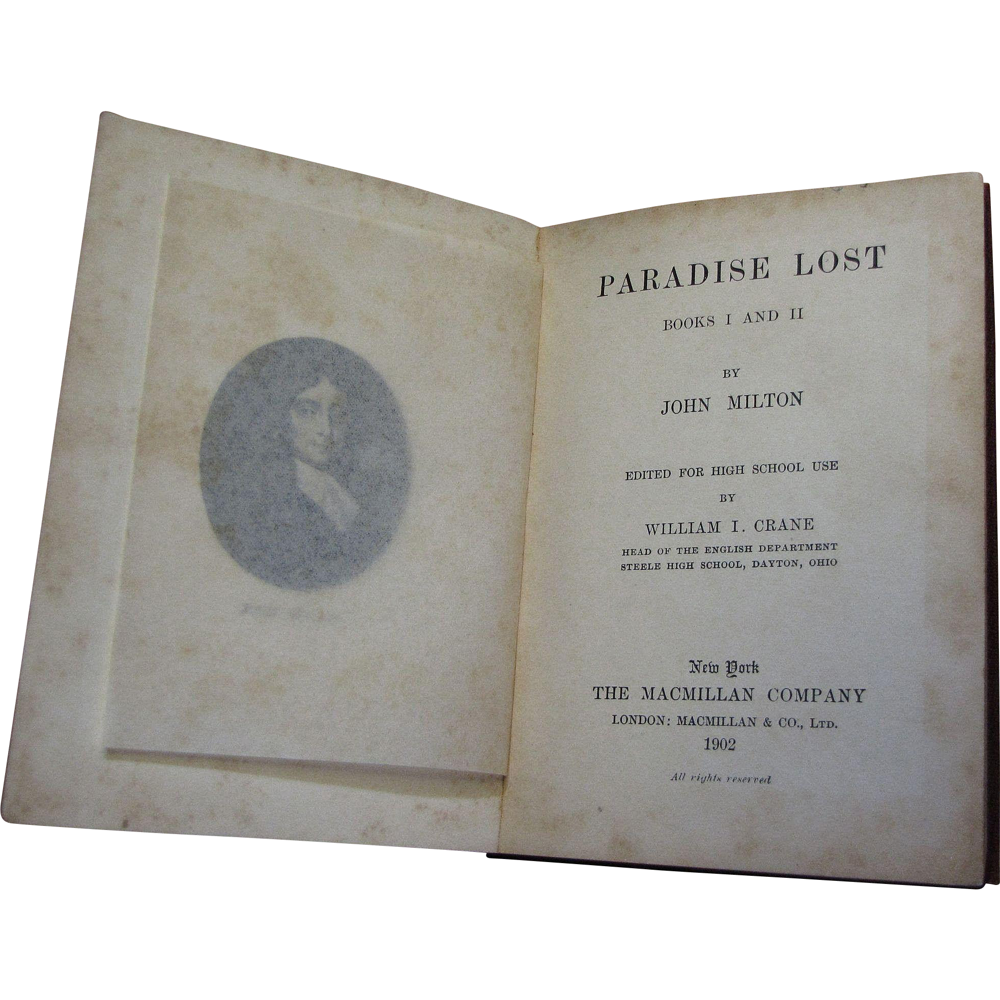 the division of good and evil in john miltons paradise lost