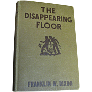Hardy Boys - The Disappearing Floor by Franklin Dixon, Grosset & Dunlap 1940 Orange Endpapers