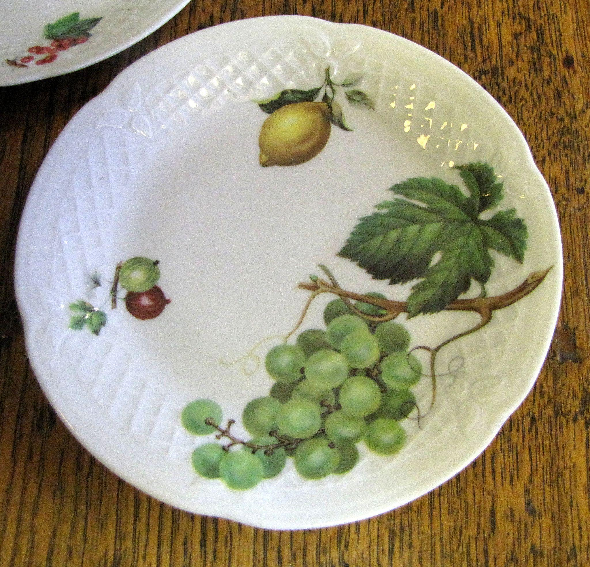 Set of 6 philippe deshoulieres porcelain french limoges for Philippe deshoulieres canape plates