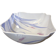 """Deep Porcelain Bowl, """"Printemps"""" The Toscany Collection, Japan (up to 3 available)"""