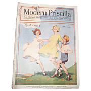 Modern Priscilla Magazine, April 1925