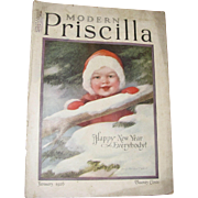 Modern Priscilla Magazine, January 1926