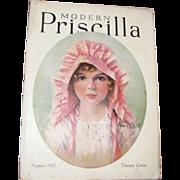 Modern Priscilla Magazine, August 1927