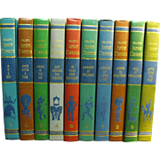 Young Folks Shelf of Books-1962-Collier's Junior Classics, Complete set of 10