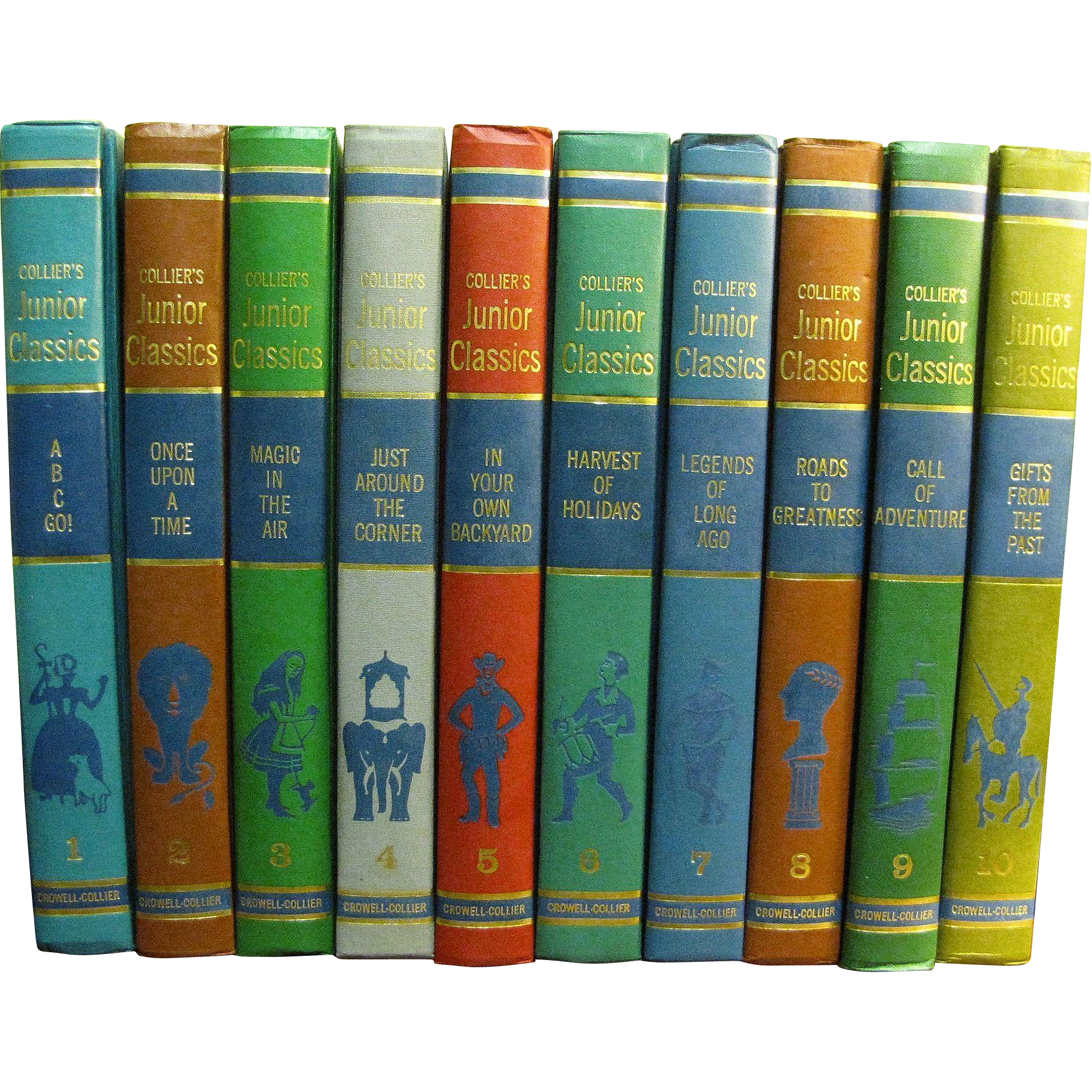 Young Folks Shelf Of Books 1962 Collier 39 S Junior Classics