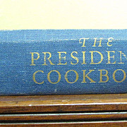 The Presidents Cookbook by Poppy Cannon 1968