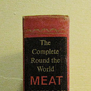 The Complete Round the World Meat Cookbook 1967 by Myra Waldo, 1st Edition Hardcover