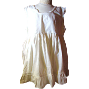 Great Little Childs Cotton Flounce Slip for Under Organdy Dresses