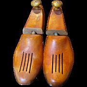 Vintage Hardwood Shoe Trees Forms or Stretchers SIZE 7D
