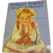 "Vintage Shirley Temple ""Her Life In Pictures"" copyright 1938‏"