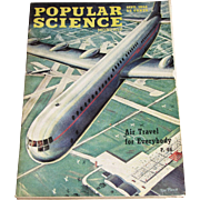 September 1946 Popular Science Magazine- Air Travel, Piper Skysedan, Atomic Bomb