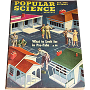 August 1946 Popular Science Magazine- 1947 Studebaker, Pre-Fabs, Puppet Factory, Culver Model V, Bikini A-Bomb Test
