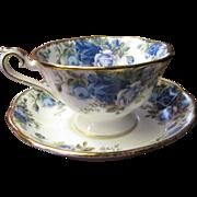 Beautiful Royal Albert Moonlight Rose Pattern Cup & Saucer Set