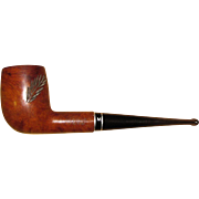 Medico Medalist Imported Briar Smoking Pipe, w/ Carved Pine Limb Design