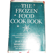 1948, The Frozen Food Cookbook by Jean Simpson & Demetria Taylor HC/DJ, 1st Edition