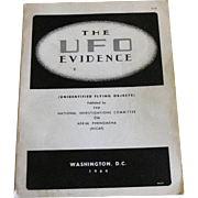 The UFO Evidence Published by NICAP. Washington, DC: 1964. Richard H. Hall Editor