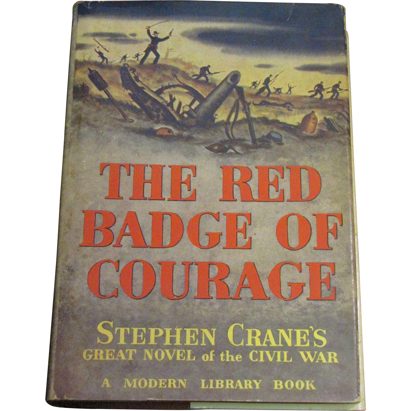 henrys view of war in the red badge of courage a novel by stephen crane The red badge of courage is an impressionistic novel by stephen crane about the meaning of courage, as it is narrated by henry fleming, a recruit in the american civil war.