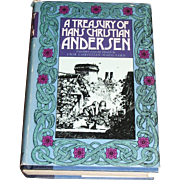 A Treasury of Hans Christian Andersen, 72 Stories - (HBDJ) 1974, Near Mint