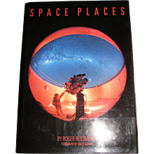 """""""Space Places"""" by Roger Ressmeyer, Buzz Aldrin, Astronomy, Cosmology, (HBDJ) Full of Color Photographs, Like New"""