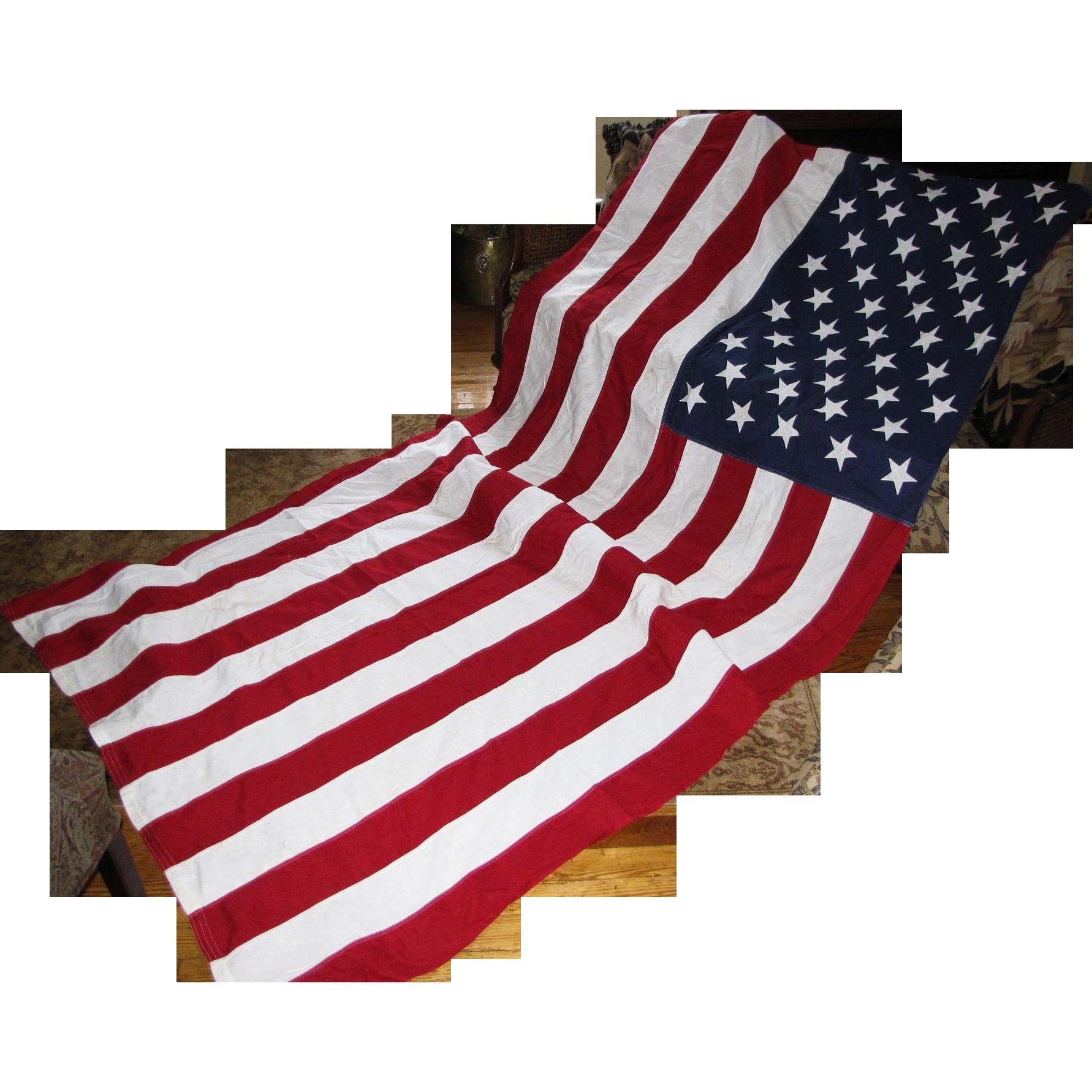 50 stars american flag