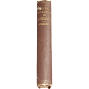 1884, Mental Evolution in Animals By George John Romanes, 1st American Edition, Posthumous Essay on Instinct by Charles Darwin