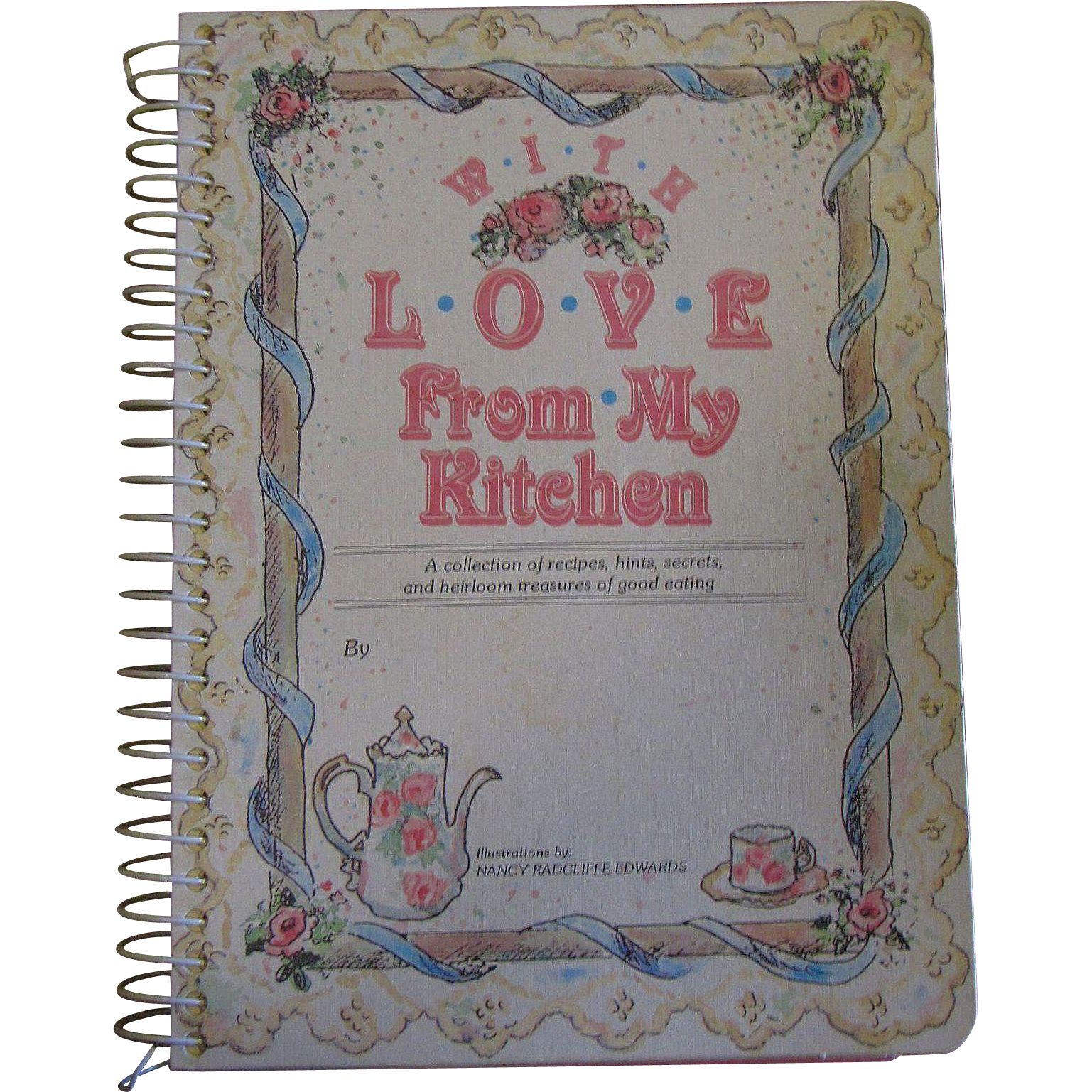 With Love From My Kitchen, Recipe Keeper, Victorian