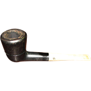 1950's, Medico Double Dri Filtered Tobacco Smoking Pipe with Filters