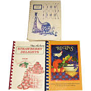 Harris, Vintage South Carolina Community Cookbooks:  Strawberry Delights, Azalea Garden Club & Recipes by Asbury Memorial United Methodist Women