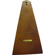 Vintage Seth Thomas Working Metronome