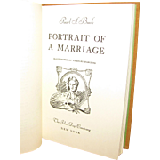 Portrait of a Marriage by Pearl S. Buck, 1945 4th impression HC
