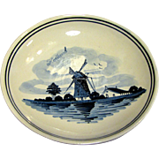 Nice Delft Windmill Design Trinket Tray