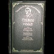 Treasury of World Masterpieces Thomas Hardy, 1982 Leather-bound HC, Like New