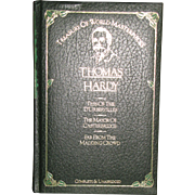 Treasury of World Masterpieces Thomas Hardy, 1982 Leather-bound HC, Like New