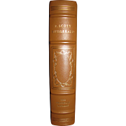 The Stories of F. Scott Fitzgerald, Leather Bound, Franklin Library, 1977, Limited Edition. A Selection of 28 Stories With an Introduction by Malcolm Cowley, Like New