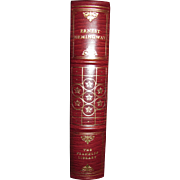 """Ernest Hemingway """"The First Forty Nine Stories"""" Franklin Library Limited Edition, Leather 1978, with the """"Notes From The Editors"""" included. Like New"""
