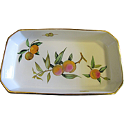 """Royal Worcester Evesham 14"""" Rectangular Baking Dish"""