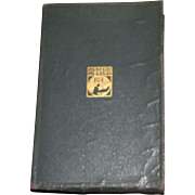 """1913, """" The Spirit of American Literature """" by John Macy, Leather Bound"""