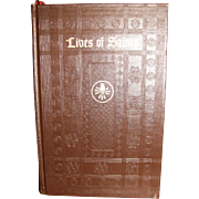 Harris, Lives of Saints, Excerpts From Their Writings by Father  Thomas Plassmann (Hardcover) 1954
