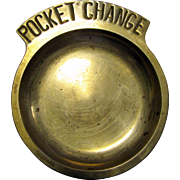 "Vintage Brass ""Pocket Change"" Dish"