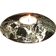 "5"" Onyx Tea Light Candle Holder by Ten Thousand Villages, Pakistan"