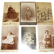 1900, Real Photographs & Postcard of Babies, Toddlers, Little Girls and Boys, Edwardian Period