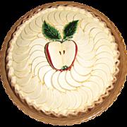 Harris, Beautiful Ceramic Apple Pie Keeper with Lid, Mint