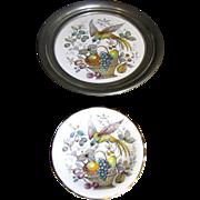 Royal Grafton Small Porcelain Bird of Paradise Dish