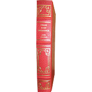 "1980 ""Pride and Prejudice"" Jane Austen Franklin Library Limited Edition, Leatherette, Near Mint"