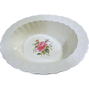 "Vintage Copeland Spode Jewel 10"" Oval Vegetable Bowl Billingsley Rose"