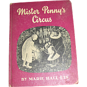 Mister Penny's Circus by Marie Hall Ets, 1961 1st Edition